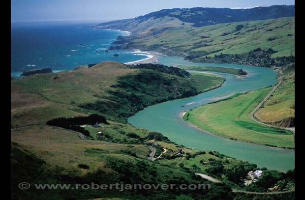 Jenner, where the Russian River meets the sea; kayak, hike, bike, explore Hwy 1.