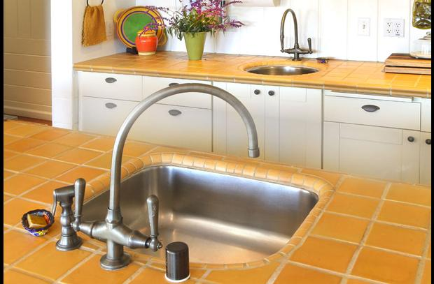 Casa Panama's kitchen is equipped with two sinks.